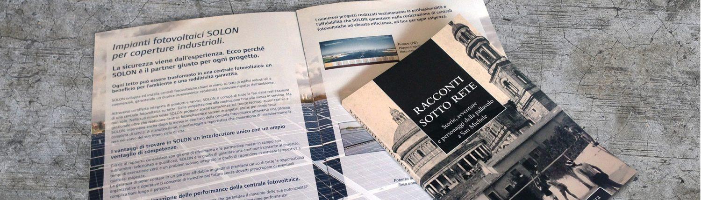 grafica e stampa brochure verona